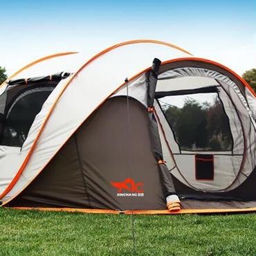 大型ポップアップテント  5〜8人用  超軽量  アウトドア  キャンプ  野営
