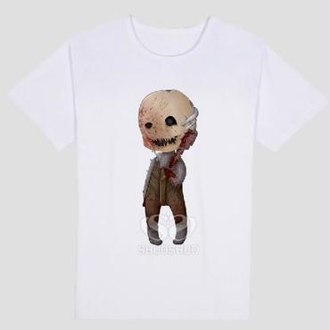 DBD デッドバイデイライト DEAD BY DAYLIGHT Tシャツ トラッパー   ホワイト