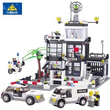 レゴ互換 警察署SWAT・ビリング・ブロック 631ピース