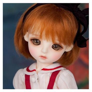 球体関節人形 本体+眼球+メイクアップ済 BJD カスタムドール 女の子 かわいい 1/6 LINA chouchou