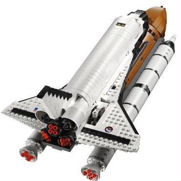 レゴ (LEGO) 互換 クリエイター・シャトルエクスペディション 10231風