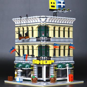 レゴ (LEGO) 互換 クリエイター・グランドデパートメント 10211風