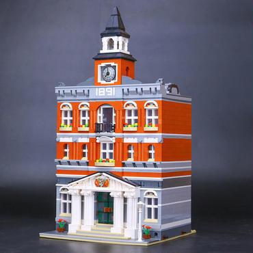レゴ (LEGO) 互換 クリエイター・タウンホール 10224風