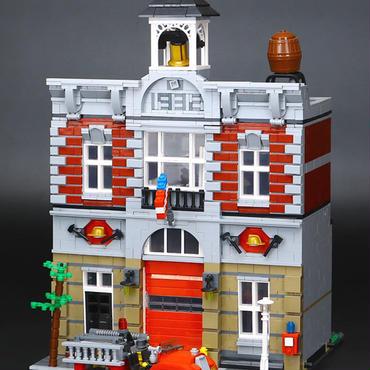 レゴ (LEGO) 互換 クリエイター・ファイヤーブリゲード 10197風