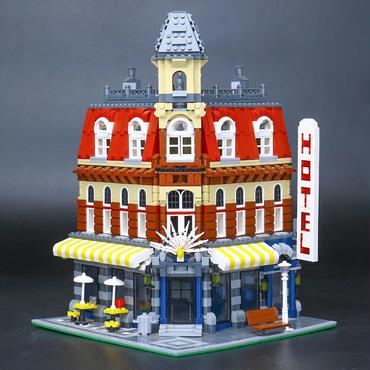 レゴ (LEGO)互換  クリエイター カフェコーナー 10182風