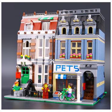レゴ (LEGO) 互換 クリエイター・ペットショップ 10218風