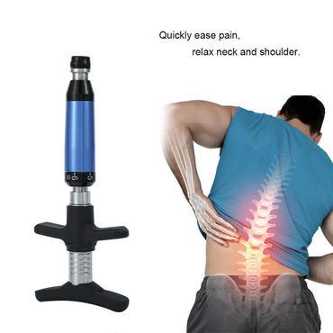 カイロプラクティック 調整ツール 脊椎 インパルス アクティベーター 治療 矯正器具 ケース付き 6段階 4ヘッド