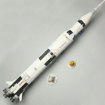レゴ(LEGO)互換 Lepin社製 NASA アポロ計画 サターンV 21309風