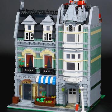 レゴ (LEGO)互換  クリエイター・グリーン・グローサー 10185風