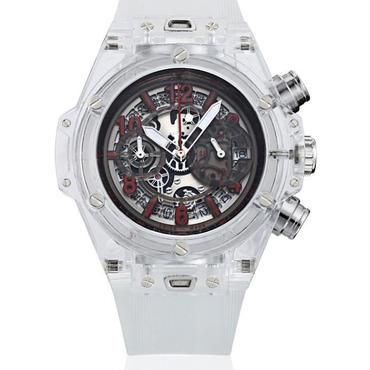 KIMSDUN スケルトン腕時計 メンズ クォーツムーブメント ホワイト・レッド  K-719-7