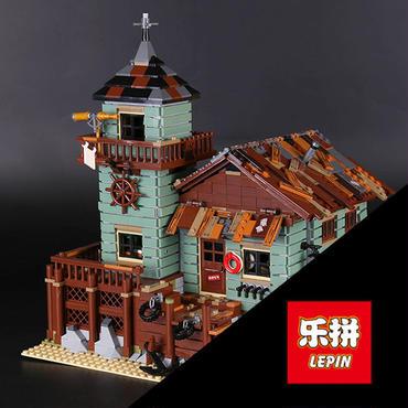 レゴ(LEGO)互換  Ideas オールドフィッシングストア 21310風
