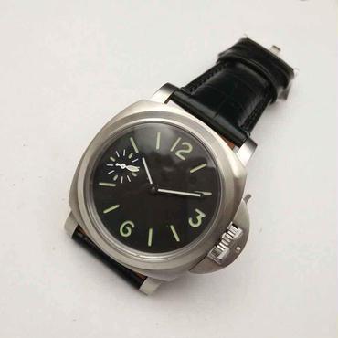Parnis(パーニス)手巻き機械式 腕時計 透明バック