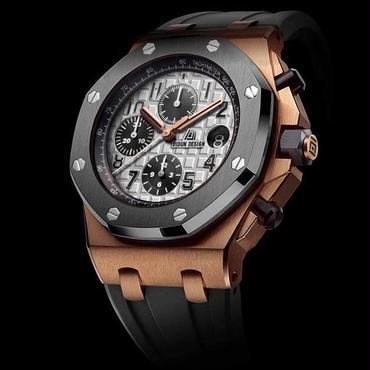 DIDUN design 腕時計 クロノグラフ ラバーストラップ カラー選択可能