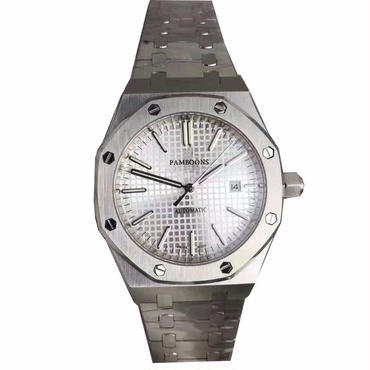 Pamboonsメンズ高級腕時計 フルスチール