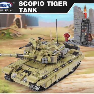 軍事シリーズ タイガー戦車 ミリタリー ブロック XINGBAO 06015