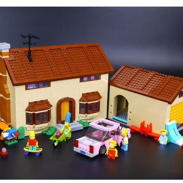 レゴ互換 シンプソンズ ハウス 71006風