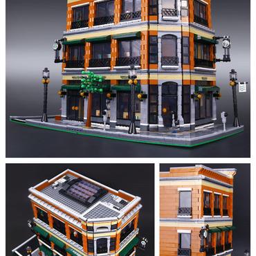 LEPIN 15017 スターバックス風書店カフェモデル