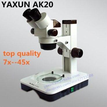 ズーム式顕微鏡 対物 接眼 110V仕様 LEDライト