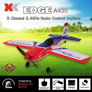 XK A430 2.4G 5CHブラシレスモーター3D6GシステムRC飛行機430ミリメートル翼幅EPS航空機の互換性フタバS-FHSS RTF