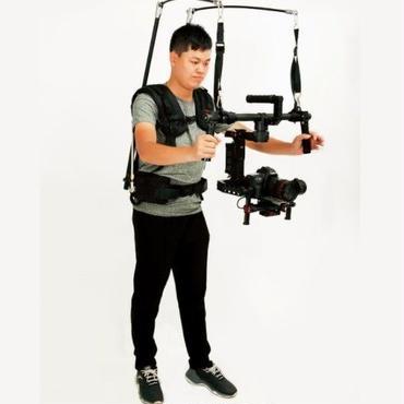イージーリグ 13kg ビデオベスト dslr DJI Ronin M 3 AXISジンバルスタビライザジャイロスコープ