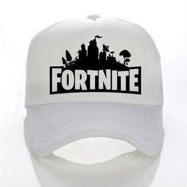 Fortnite 帽子 キャップ ダフトパンク 3dプリント 野球帽 ユニセックス メッシュ ホワイト
