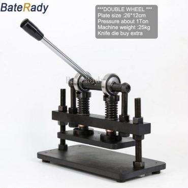 ダイカットマシン 革切断機 レザークラフト 26 × 12センチ