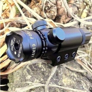 赤/緑レーザー戦術視力スコープ エアガン ライフル スコープ狩猟ライフル銃望遠照準器屋外スポーツ