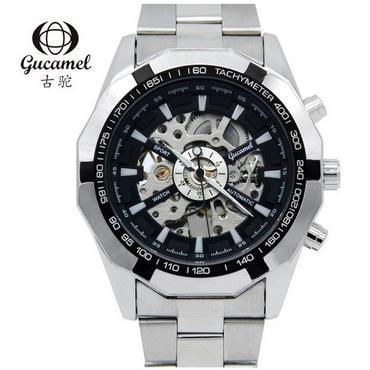 機械式腕時計 クラシック メンズファッション 重厚感のある海外高級インポート時計! ビジネス カジュアル