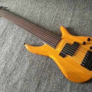 【7弦】エレキベースフレットレスベースかえで シタン 初心者 プロ 男女兼用 趣味 音楽 演奏 練習 楽器