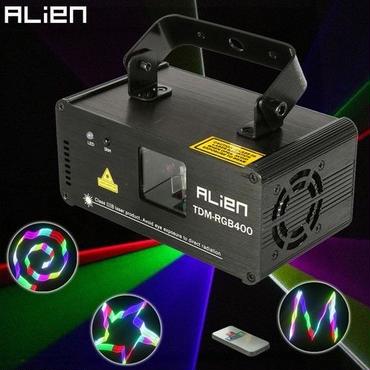 エイリアン リモート 3D RGB 400メガワット プロジェクター ステージ照明 DJディスコショーライト