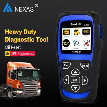 DPFドクターカートラック診断ツールディーゼル・パティキュレートサービスツール+オイルサービスツール大型トラックNL102P