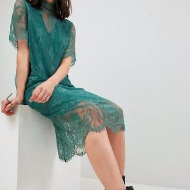 エイソス ドレス ASOS/Pieces T-Neck Lace Midi Dress