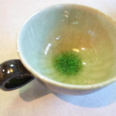 灰釉 スープカップ