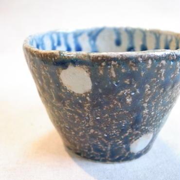 瑠璃釉 ドット柄 フリーカップ
