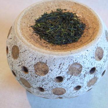 茶香炉 緋色ドット柄( A )