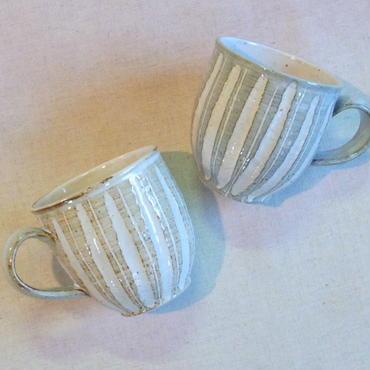 鎬マグカップ(白釉)A・Bタイプ