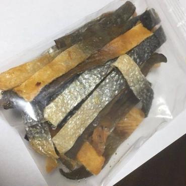 お魚チップス 鮭皮ジャーキー ※寄付金込み