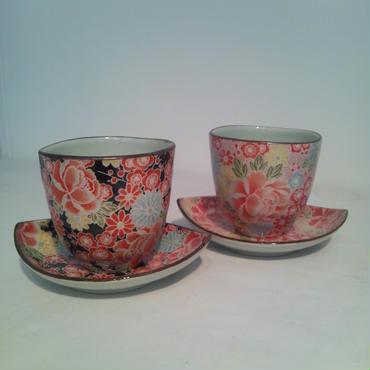 かわいい茶たく  2客set