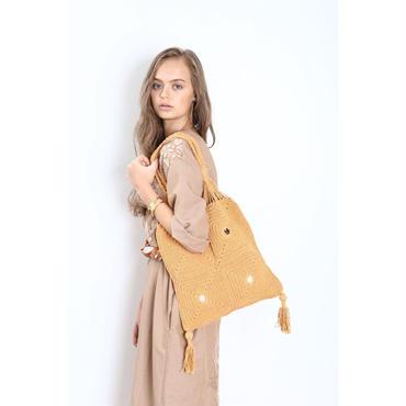 【Shikica Tokyo】Handmade crochet bag/SH-SS1701