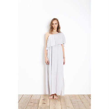 【KiiRA】COTTON ONE-SHOULDER OP/ki-3016