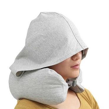 ネックピロー  u型  帽子付き  洗える 枕  携帯枕