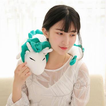 龍  リュウ  ドラゴン  ネック枕 ぬいぐるみ  編みぐるみ 30cm