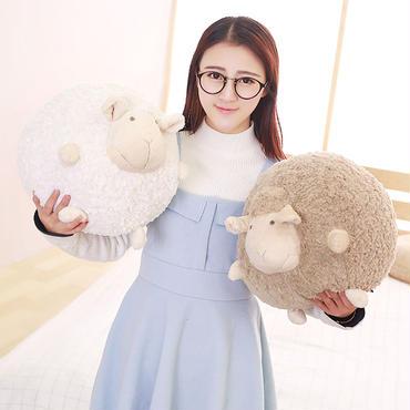 ひつじ  ぬいぐるみ  編みぐるみ  抱き枕  もちふわクッション 50cm