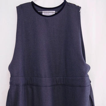 【 POTTENBURN TOHKII 】NAVY LINE DRESS