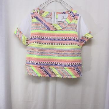 【 mania TOKYO 】Fancy tweed pullover