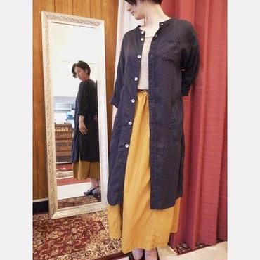 【 OMNIGOD 】Stand collar long blouse