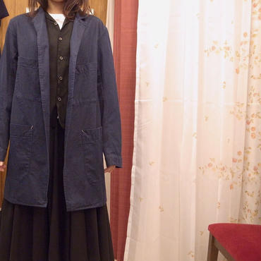 【 inner mind chronology 】Indigo work jacket