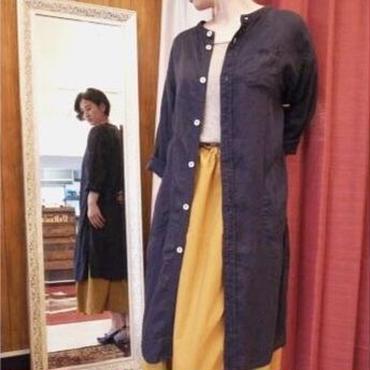 【 OMNIGOD 】Stand collar long blouse
