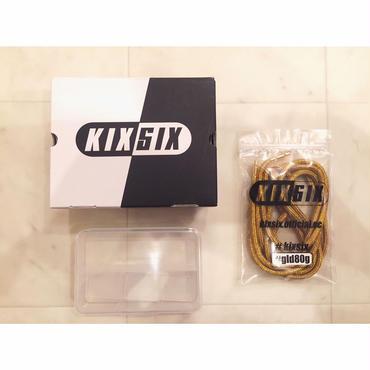 【 KIXSIX 】METALLIC ROPELACE -Gold-