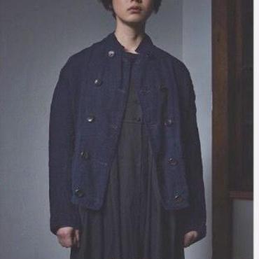 【 inner mind chronology 】Indigo line cook jacket